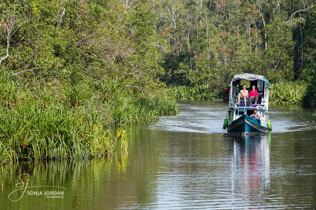 Unterwegs im Tanjung Puting National Park