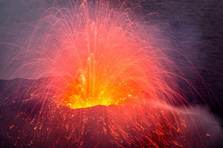 Trilogie der Vulkane